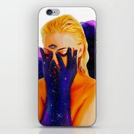Divine Feminine 1 ( We Are The Cosmos ) iPhone Skin