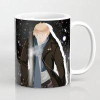 hetalia Mugs featuring Gentleman Arthur by LEGG