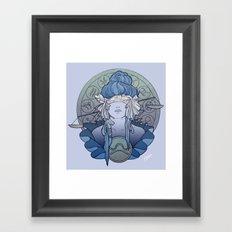 Zodiac Series | Libra Framed Art Print