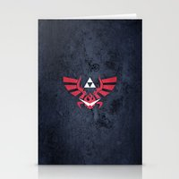 gurren lagann Stationery Cards featuring The Legend of Lagann by Bozzman