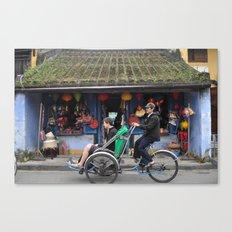 Tourist Canvas Print