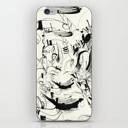 Crushed by a Bull iPhone Skin