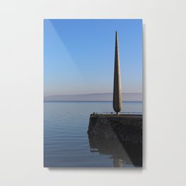 Fid Monument Moville Donegal Metal Print
