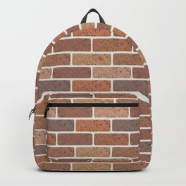Red brick wall Backpack