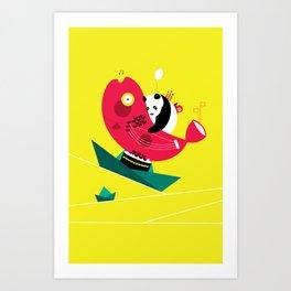 Quiet Boat Art Print