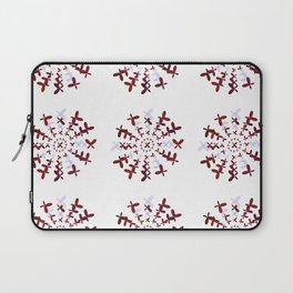 The Magic Circle of The Butterflies Laptop Sleeve
