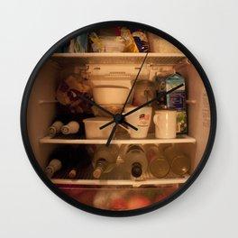 Fridge Candies  3   [REFRIGERATOR] [FRIDGE] [WEIRD] [FRESH] Wall Clock
