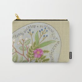 Maine Wildflowers Carry-All Pouch
