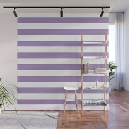 lavender stairs Wall Mural