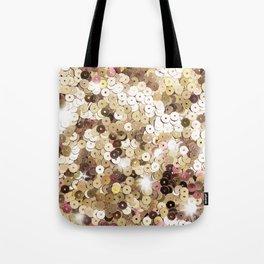 Fashion Gold Glitter Tote Bag
