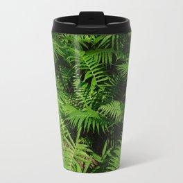 Ferns in the garden Travel Mug