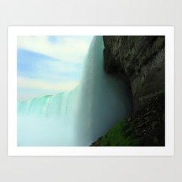 Inside Niagara Falls   Nadia Bonello Art Print