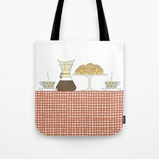 have a fika with me Tote Bag