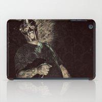 doom iPad Cases featuring MF Doom by Ferdinand Bardamu