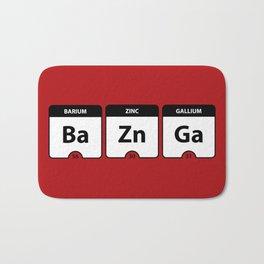Bazinga Periodic Table Funny Quote Bath Mat