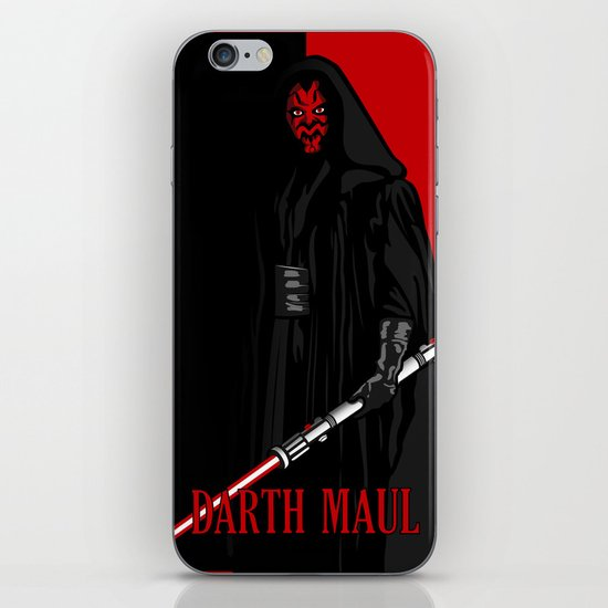 Darth Maul, Say Goodnight To the Badguy iPhone & iPod Skin