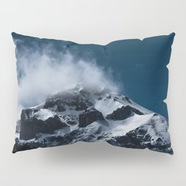 Crushing clouds #mountain #snow Pillow Sham