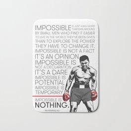 Ali 'The Champ' Boxing Bath Mat