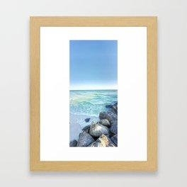 The Jetties Framed Art Print