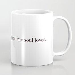 I have found the one #minimalism #love Coffee Mug