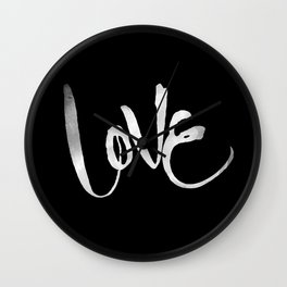 Love #2 Wall Clock