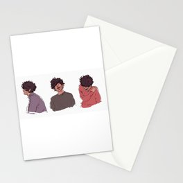 Grantaire Trio Stationery Cards