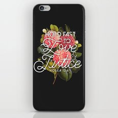 Love and Justice iPhone & iPod Skin