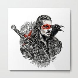 Uhtred Ragnarson Metal Print