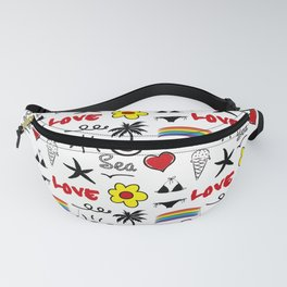 Waiting for summer Fanny Pack