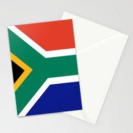 flag south africa, African,Afrikaans,Mandela,apartheid, Johannesburg,Soweto,Pretoria,Durban,Tembisa Stationery Cards