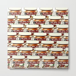 Nutella-76 Metal Print