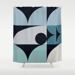 Geometrica 18 Shower Curtain