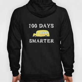 100 Days Smarter 2019 design for Teachers and Students Hoody