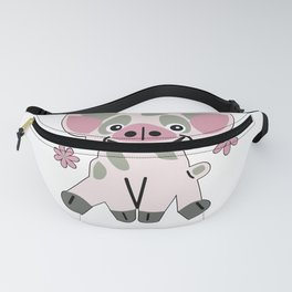Cute Pink Pig Fanny Pack