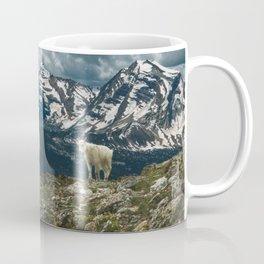 Glacier Mountain Goats Coffee Mug