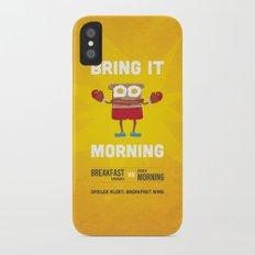 Bring It Morning Slim Case iPhone X