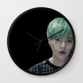 Run Suga Wall Clock