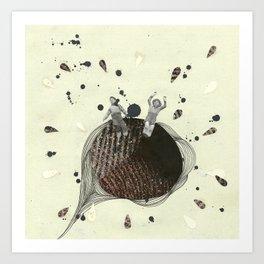 their planet was... Art Print