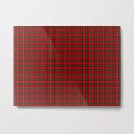 Grant Tartan Metal Print
