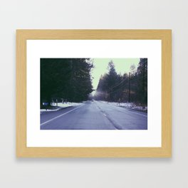 Mountain Rainier  Framed Art Print