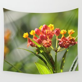 Little Spring Blooms Wall Tapestry