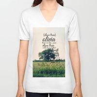 olivia joy V-neck T-shirts featuring Olivia by KimberosePhotography