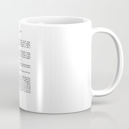 Becoming Real, Velveteen Rabbit Quote Coffee Mug