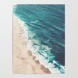 Beach Nazare Poster