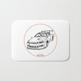 Crazy Car Art 0039 Bath Mat