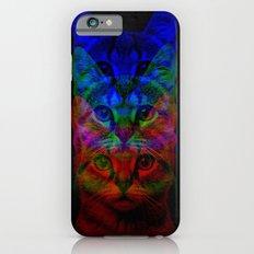 Hipster Cat Art iPhone 6s Slim Case
