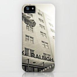 Art Deco Miami Beach #9 iPhone Case