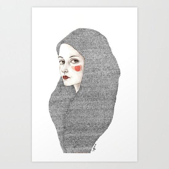 Zanna Art Print