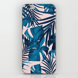 Tropical Jungle Leaves Pattern #6 #tropical #decor #art #society6 iPhone Skin