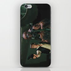 Hokey religions and ancient weapons are no match for a good blaster at your side iPhone Skin